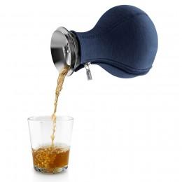 Чайник заварочный Tea Maker в неопреновом чехле 1 л темно-синий