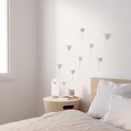 Декор для стен Bloomer 9 элементов белый