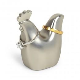 Подставка для колец Anigram Петушок никель