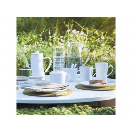 Набор из 4 округлых чашек LSA International Dine 380 мл