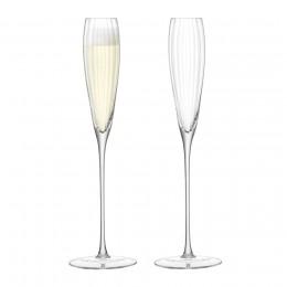 Набор из 2 бокалов-флейт для шампанского LSA Aurelia 165 мл