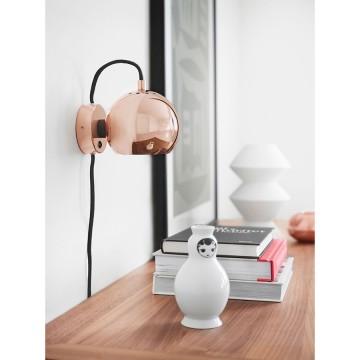 Лампа настенная Ball D12 см бронзовая в глянце