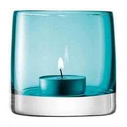Подсвечник для чайной свечи Light Colour 8,5 см бирюзовый