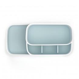 Органайзер для ванной комнаты EasyStore™ белый-голубой