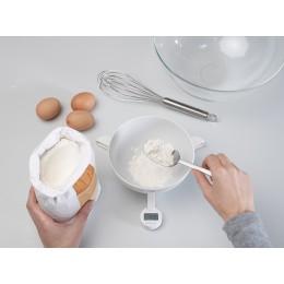 Складные кулинарные весы TriScale белые