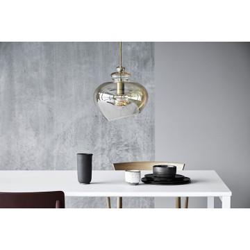 Лампа подвесная Grace D23 см стекло, шампань