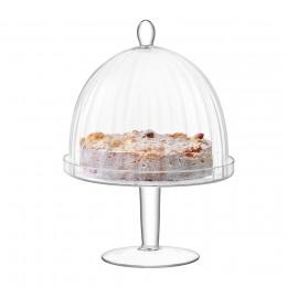 Подставка для торта с крышкой LSA International Aurelia D25 см