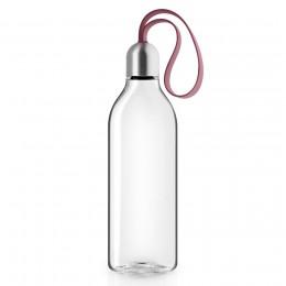 Бутылка плоская 500 мл гранатовая