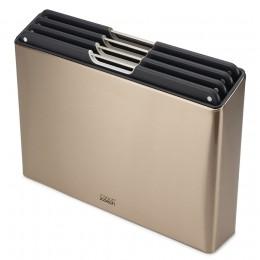 Набор разделочных досок Folio Steel золотистый