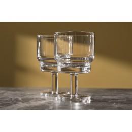 Набор из 2 бокалов для вина Utility 220 мл прозрачный