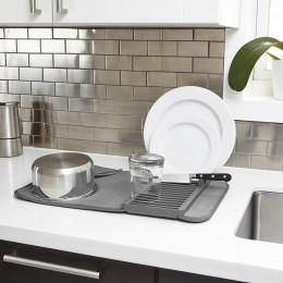 Коврик для сушки посуды UDRY mini темно-серый