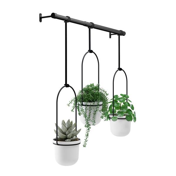 Дисплей с горшками для растений TRIFLORA подвесной