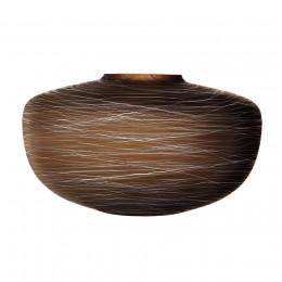 Ваза LSA International Boulder 17,5 см коричневая