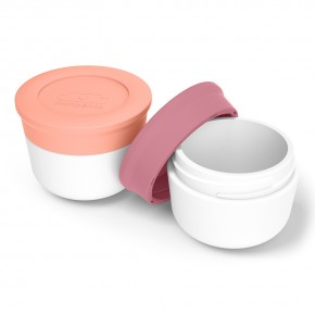 Соусницы с крышкой MB Temple малые 2 шт. pink flamingo + blush