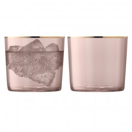 Набор из 2 стаканов Sorbet 310 мл коричневый
