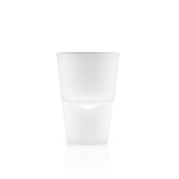 Горшок с функцией естественного полива 11 см белый