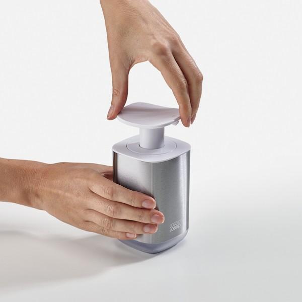 Диспенсер для мыла Presto Steel белый