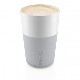 Набор чашек Latte 360 мл серый
