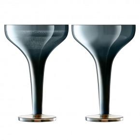 Набор из 2 бокалов для шампанского Signature Epoque 150 мл, сапфир