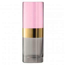 Ваза LSA Bangle 20 см розовый