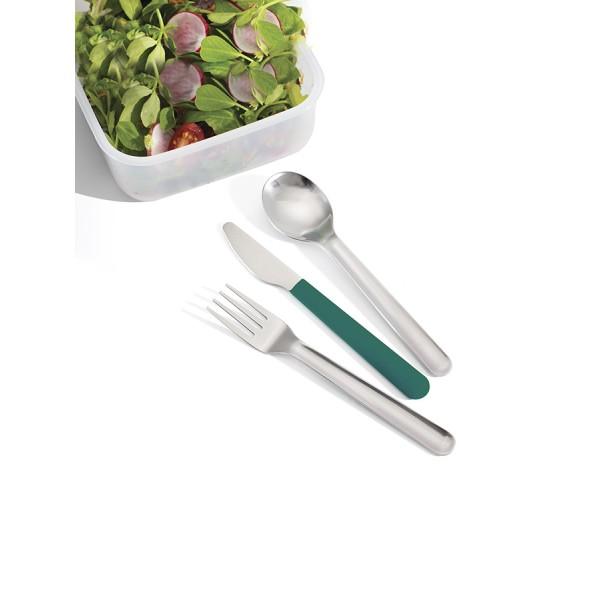 Набор столовых приборов GoEat™ Cutlery Set изумрудный