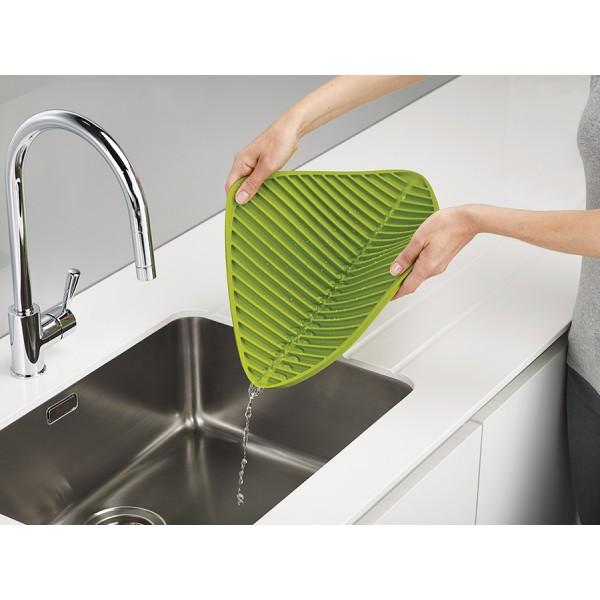 Коврик для сушки посуды Flume маленький серый