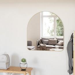 Зеркало настенное Hubba 86х91 см латунь