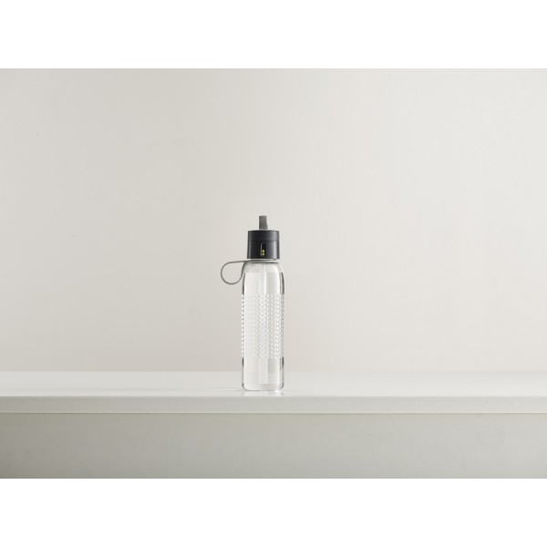 Бутылка для воды Dot Active 750 мл серая