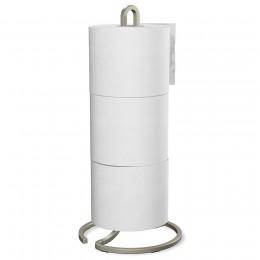Держатель для хранения туалетной бумаги Squire никель