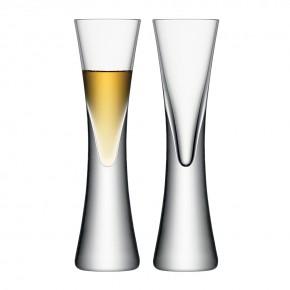 Набор из 2 бокалов для ликёра LSA International Moya 50 мл прозрачный
