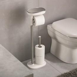 Держатель для туалетной бумаги с подносом EasyStore