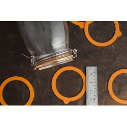 Набор из 6 резиновых подкладок для банок Clip Top 3 л