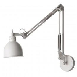 Лампа настенная Job белая матовая
