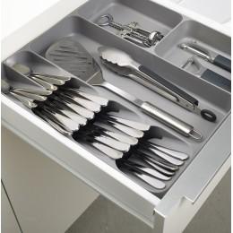 Органайзер для столовых приборов и кухонной утвари DrawerStore белый