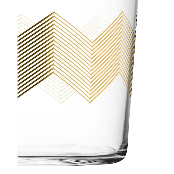 Набор из 4 стаканов Signature Chevron 310 мл