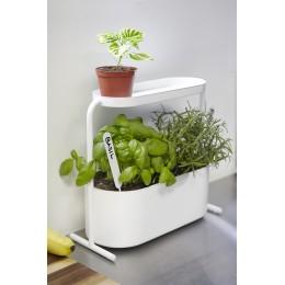Кашпо для комнатных растений Giardino белое