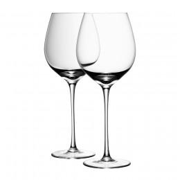 Набор из 4 бокалов для красного вина с подставками Wine 750 мл