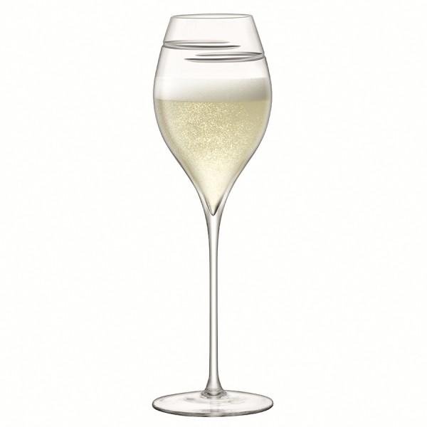Набор из 2 бокалов для шампанского Signature Verso Tulip 370 мл