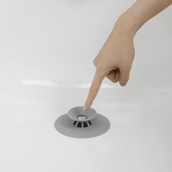 Фильтр для слива Umba FLEX серый