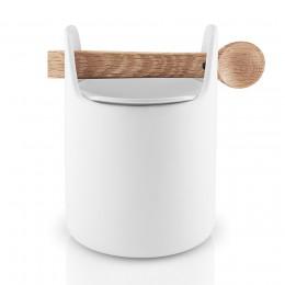 Емкость для хранения с ложкой 15 см