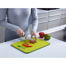Доска разделочная с ножеточкой Slice & Sharpen™ большая черная