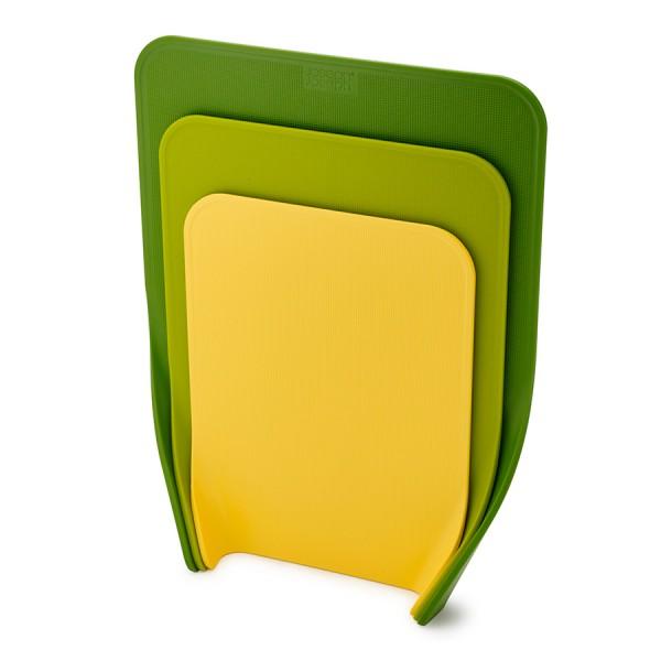 Набор из 3 разделочных досок Nest™ зеленый