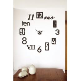 Часы настенные Numbra черные