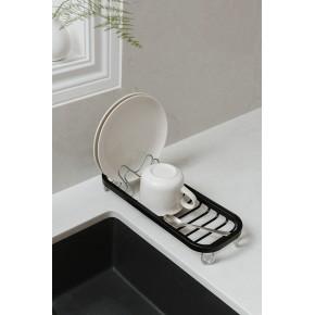 Сушилка для посуды Sinkin mini черный/никель