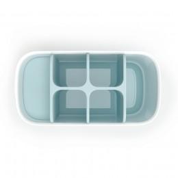 Органайзер для зубных щеток EasyStore™ большой белый-голубой