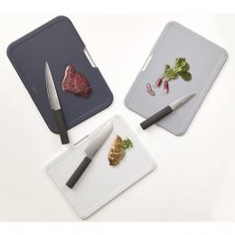 Набор разделочных досок с ножами Nest Plus Silver