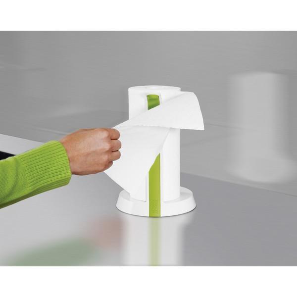 Держатель для бумажных полотенец Easy Tear™ белый/зеленый