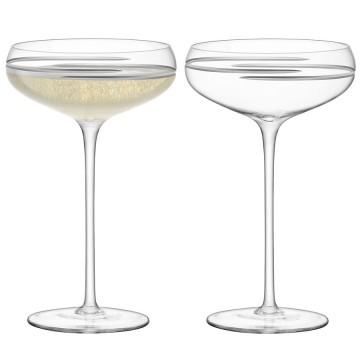 Набор из 2 бокалов для шампанского Signature Verso 300 мл