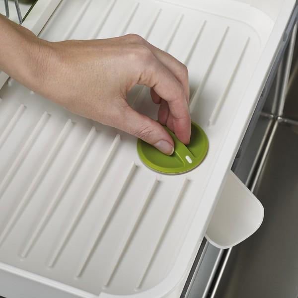 Сушилка для посуды раздвижная Extend белая