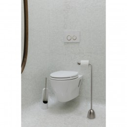Держатель для туалетной бумаги Heron никель